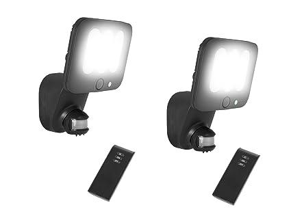 Set da pezzi led luce di sicurezza lampade da esterno con sensore di