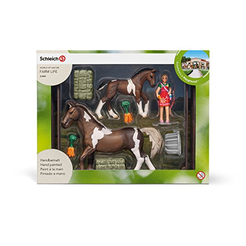Schleich Horse Feeding Play Set