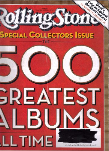 Rolling Stone Magazine December 11, 2003 (Special Collectors Issue the 500 Greatest Albums Of All Time) (Stone Albums Rolling Greatest 500)