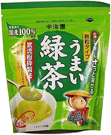 宇治園 さっと溶けるうまい緑茶 40g×6個