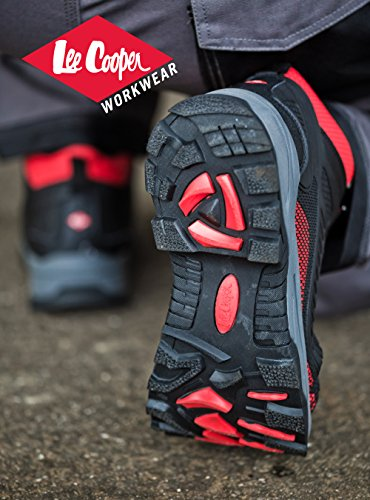 travail Chaussures Travail Noir rouge Sportif Lee Cooper Noir de src S3 Boot nwIUE6qXx
