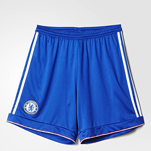 (adidas Mens Chelsea Home Soccer Shorts 2015/16 (Blue) X-Large)