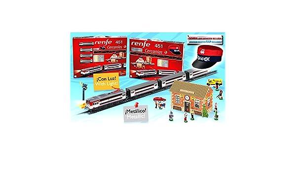 ONOGAL Tren electrico de Juguete RENFE Cercanias Locomotora con ...