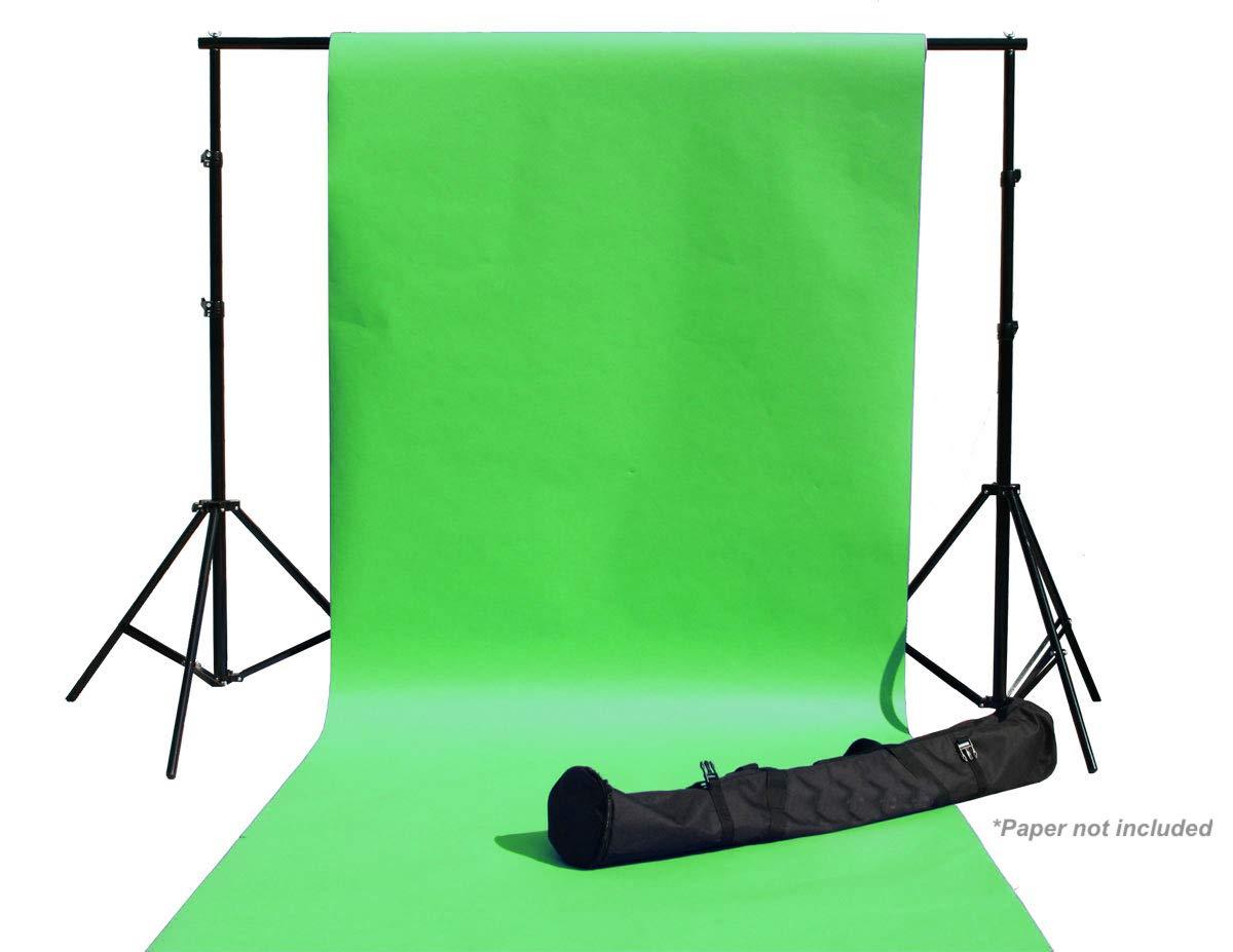 8 x 10 写真スタジオ ビデオ 全金属背景スタンド 高耐久背景サポートキット   B07MPNTHN2