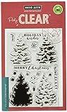 Hero Arts Color Layering Christmas Tree Design Stamp