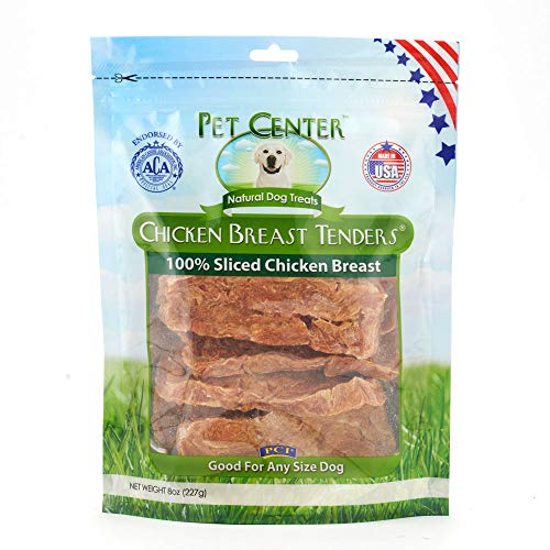 Pet Center, Inc. PCI Chicken Breast Tenders Dog Treats, Made in USA, 8 Ounce Pack