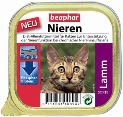 Beaphar gato Riñón Dietas + Cordero 16 x 100 g