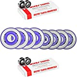 Labeda Millennium Gripper HILO Purple Hockey Inline Wheels 76mm 80mm X-SOFT Swiss