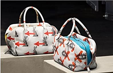 ed6fe7ac8486 Image Unavailable. Image not available for. Colour  PRADA 2016 RESORT  BOWLER BAG ...