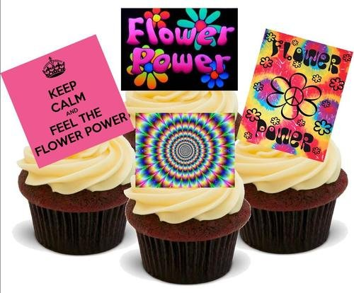 FLOWER POWER 60S HIPPY MIX - 12 Edible