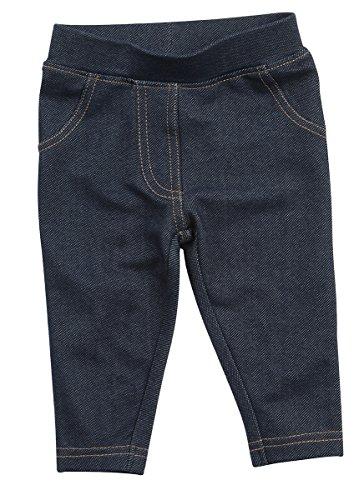 BABYTOWN Unisex Boys Girls Denim Style Leggings (Sizes 0-24m) Cotton Rich (Cotton Rich Denim Jeans)