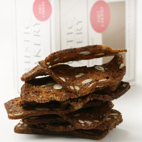 Tart Cherry and Cacao Nib Artisan Crisps by Rustic Bakery (5 ounce) (Rustic Bakery Cookies)