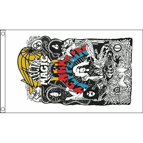 LED ZEPPELIN FLAG 3' x 5' - LED ZEPPELIN - ROCK FLAGS 90 x 1