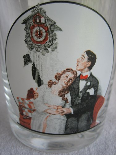 Courting at Midnight - fom the Saturday Evening Post Norman Rockwell Glassware Collection (The Saturday Evening Post Norman Rockwell Glassware Collection)