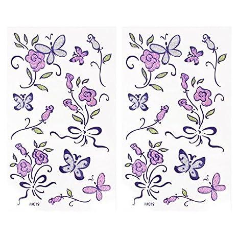 DealMux flor de mariposa del patrón de la piel decorativa de ...