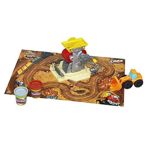 Play-Doh Diggin Rigs Tonka Chuck N Friends Brick Mill Set