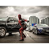 """DeadPool - Movie Poster (12"""" x 15"""") Glossy Finish (Thick, 8mil): Ryan Reynolds, Morena Baccarin"""