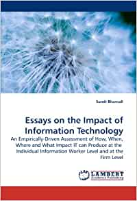 essay on impact of technology on work routines