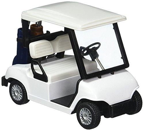⛳ Kinsfun Diecast Golf Cart No Decals  (Golf Trophy Replica)