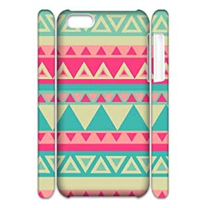 Aztec Tribal Pattern Brand New 3D Cover Case for Iphone 5C,diy case cover ygtg538036