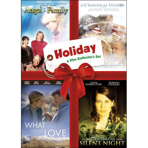 Holiday Four-Film Collector's Set: Volume One (Angel in the Family / A Christmas Visitor / What I Did for Love / Silent Night) (Great White Live In London)