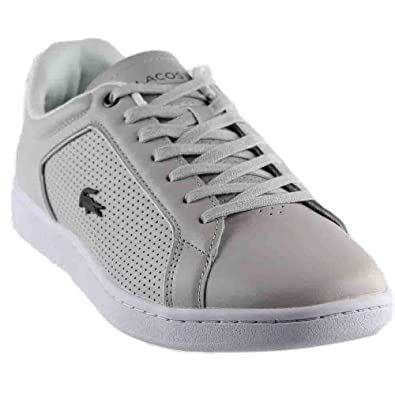db28e8e66 Lacoste Men s Carnaby Evo Leather Sneakers  Buy Online at Low Prices in  India - Amazon.in