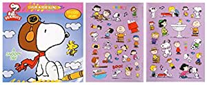 Peanuts Color & Read Along with Stickers ~ A Snoopy Day