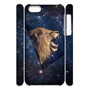 linJUN FENGLion Custom 3D Cover Case for iphone 5/5s,diy phone case ygtg541951