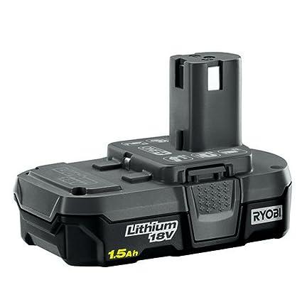 Amazon.com: Ryobi Batería de iones de litio compacta de 18 V ...