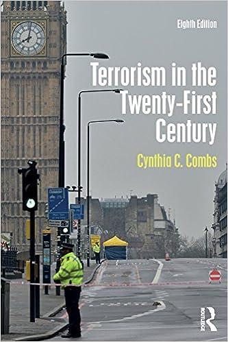Terrorism In The Twenty First Century Combs Cynthia C 9781138671393 Amazon Com Books