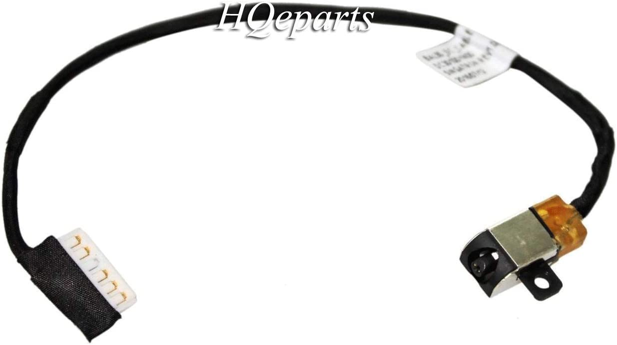 New Laptop AC DC Power Jack Plug in Socket Connector with Cable Harness for Dell Inspiron 15 3573 6JTV6 450.0AD05.0012 17 5000 5770 i5770 5775 i5775 P35E P35E001 5567-7291