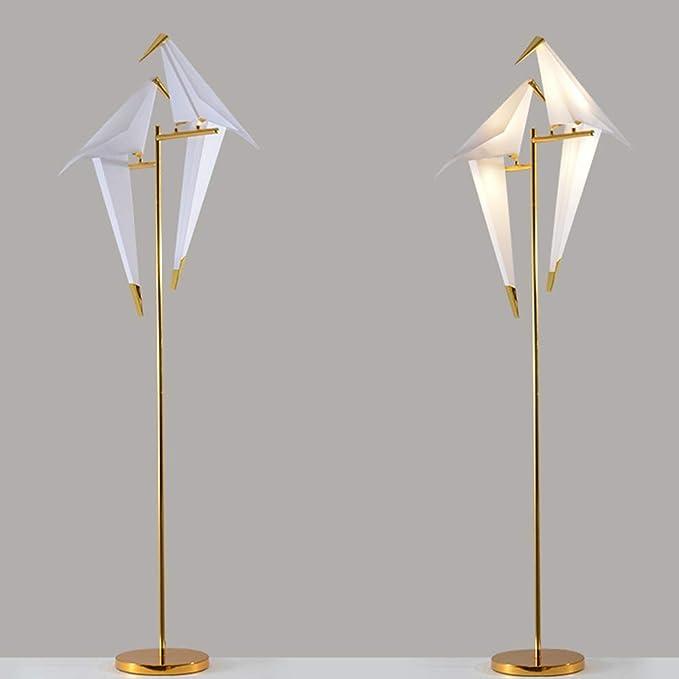 Amazon.com: IJ INJUICY Modern Bird LED PPC Art Floor Lamp ...