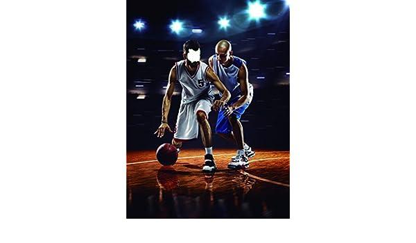 Photocall Jugadores Baloncesto   Medidas 1,15 m x 1,54 m ...