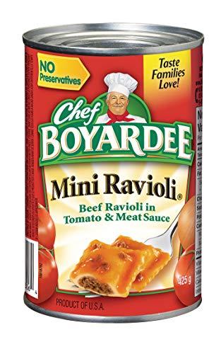 Chef Boyardee Mini Ravioli, 15-Ounce (Pack of - Ravioli Mini Boyardee Chef