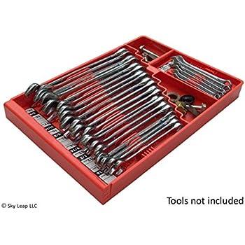 snap on metal socket organizer. tool sorter wrench organizer - red snap on metal socket