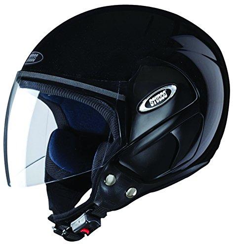 Studds Cub SUS_COFH_BLKXL Open Face Helmet (Black, XL)