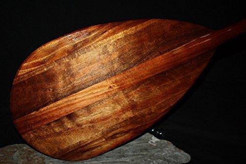 TikiMaster Architectural Extra Large Koa Canoe Paddle 72