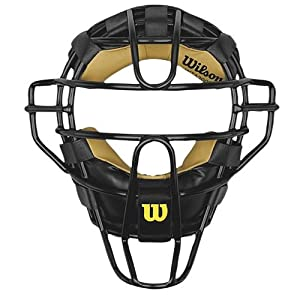 Wilson Dyna-Lite Steel Cage Two Tone Black and Leather Umpire
