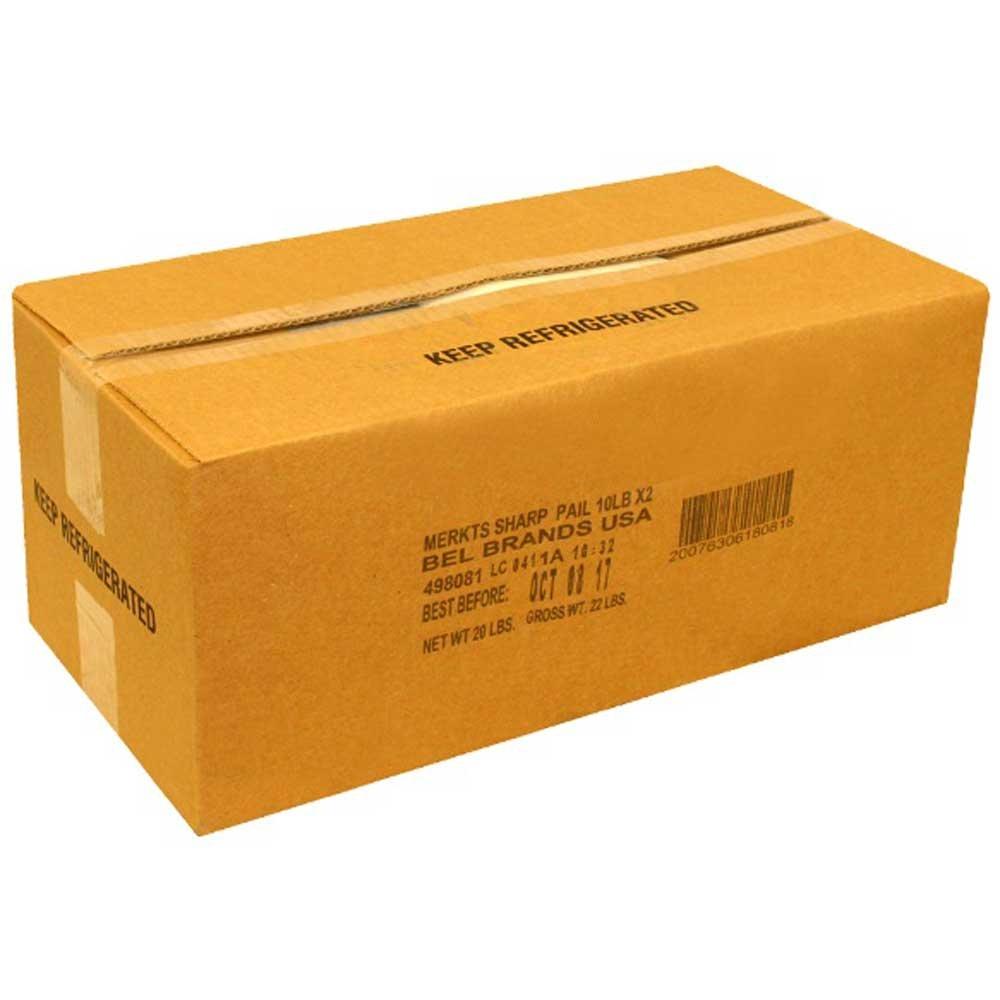 Merkts Sharp Cheddar Cheese Spread, 10 Pound -- 2 per case.