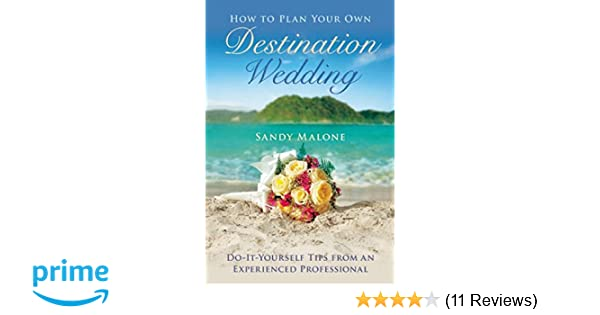 How to plan your own destination wedding do it yourself tips from how to plan your own destination wedding do it yourself tips from an experienced professional sandy malone 9781634507530 amazon books solutioingenieria Image collections