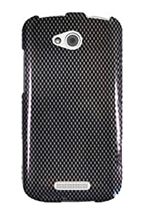Graphic Case for HTC One VX - Carbon Fiber (Package include a HandHelditems Sketch Stylus Pen)