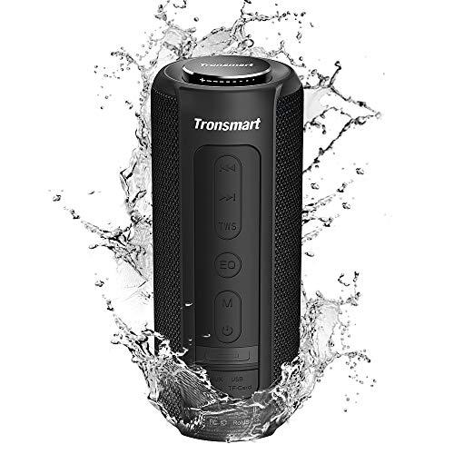 Tronsmart T6 Plus Altavoz Bluetooth 40W, Altavoces Portatiles Waterproof IPX6 con Powerbank, 15 Horas de Reproducción…