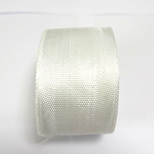 YIKAI Fiberglass Cloth Tape, Glass Fiber Mesh Joint Tape Plain Weave Reinforcement E-Glass Size 2'' x 131' (5cm x 40m) by YIKAI