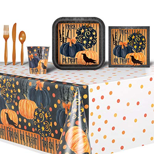 Halloween Trick or Treat Themed Party Set Bundle]()