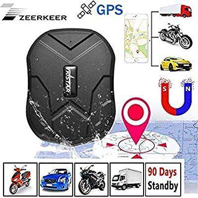 ZEERKEER GPS Tracker Seguimiento en Tiempo Real posicionamiento ...