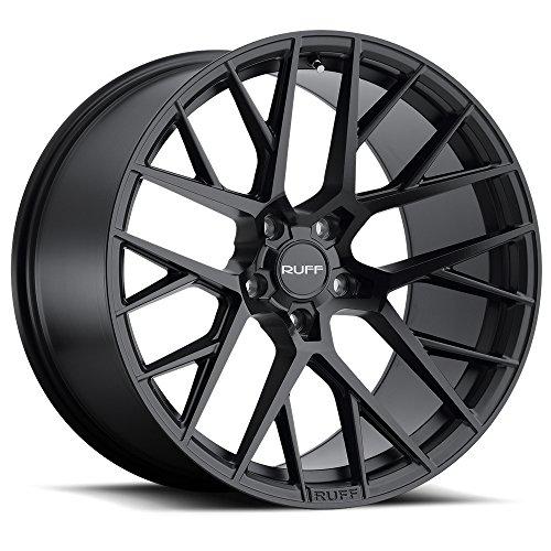 Ruff R4 20x9 5x112 +32mm Gloss Black Wheel Rim