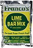 Franco's Lime Margarita Bar Mix 24 oz (makes 1 Gallon)