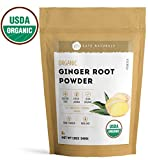 #6: Ginger Root Powder Organic by Kate Naturals. Ground. Perfect For Tea, Smoothies and Cooking. Fresh Ginger Taste & Fragrance. Large Resealable Bag. Gluten-Free and Non-GMO. 1-Year Guarantee (12oz)