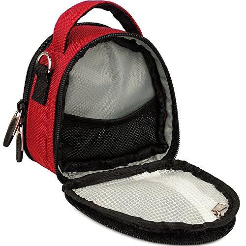 Handbag A1MK Action Case A1 Panasonic Shoulder Travel Cam HX Ultra Light HD Wearable Red 787vXqS