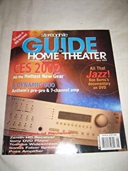 stereophile guide to home theater may 2002 54 vol 8 no 4 thomas rh amazon com Stereophile Recommended Components 2012 Stereophile Magazine 1 4 Million Dollar Systems